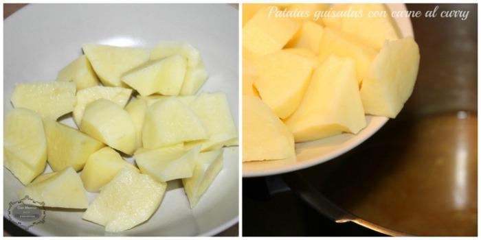 Patatas guisadas con carne al curry 4