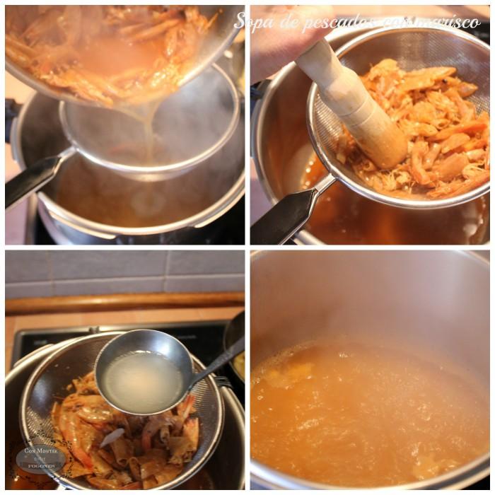 Sopa de pescados con marisco 3